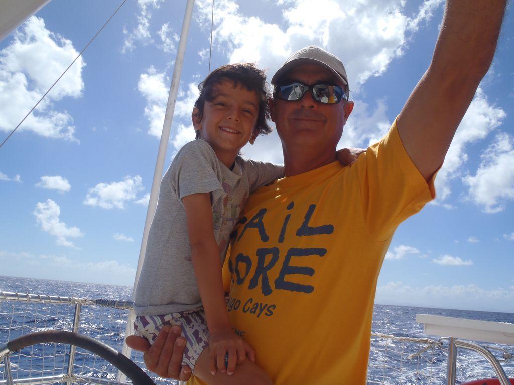 Patrice Skipper Antilles dans la mer des Caraibes