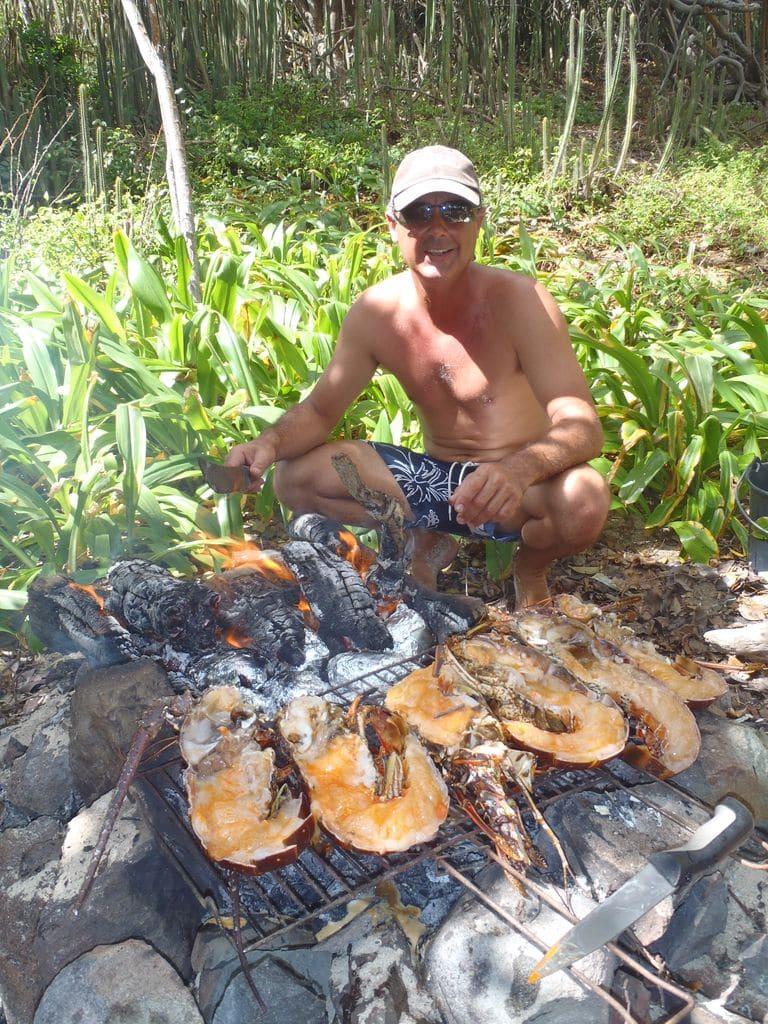 Les langoustes des Antilles