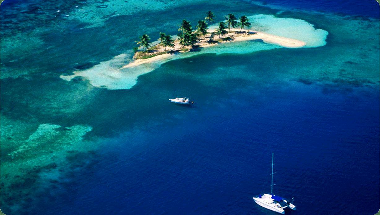 croisiere en catamaran au Belize