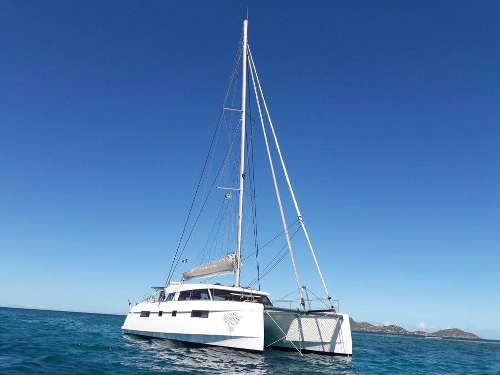 Open 46 catamaran de croisiere